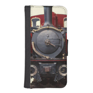 Blue And Red Train iPhone SE/5/5s Wallet Case