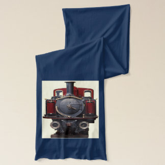 Blue And Red Train Scarf