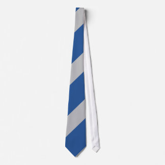 Blue and Silver Force Tie