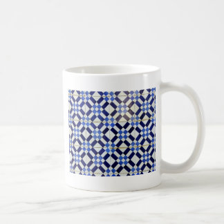 Blue and White Azulejo Coffee Mugs