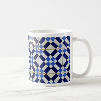 Blue and White Azulejo Mugs