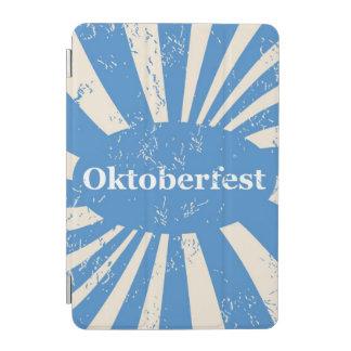 Blue and white background iPad mini cover