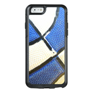 Blue and White Basketball Otterbox Phone Case