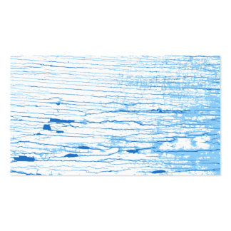 Blue and White Cracked Paint Style Graphic. Pack Of Standard Business Cards