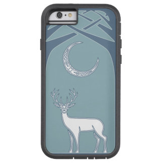 Blue And White Deer In The Forest Celtic Art Tough Xtreme iPhone 6 Case