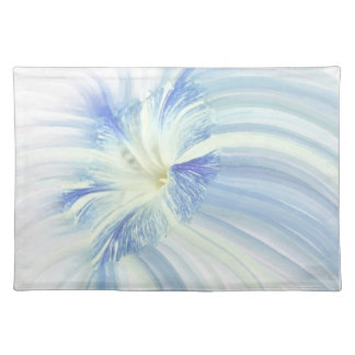 Blue and White Flower Placemat
