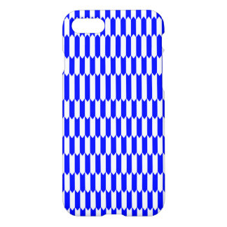 Blue and white Geometric pattern iPhone 8/7 Case