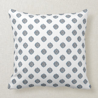 Blue and White Persian Style Cushion