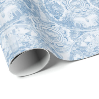 Blue and White Porcelain by Redux121DesignStudio Wrapping Paper