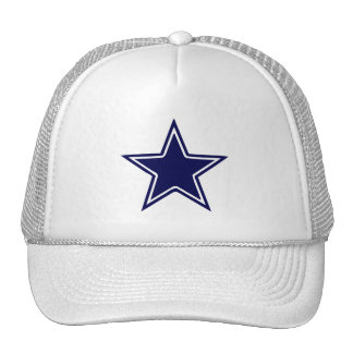 BLUE AND WHITE STAR CAP