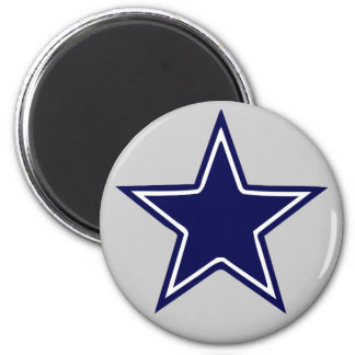 BLUE AND WHITE STAR MAGNETS