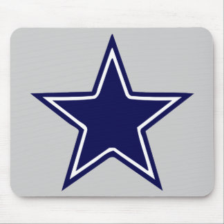 BLUE AND WHITE STAR MOUSEPADS