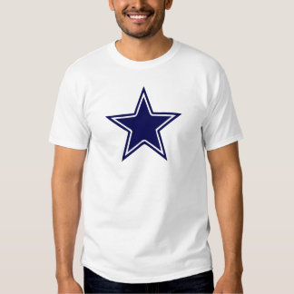 BLUE AND WHITE STAR TEES