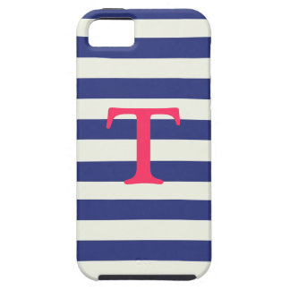 Blue and White Striped iPhone 5 Case
