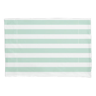 Blue and White Striped Pillow Pillowcase
