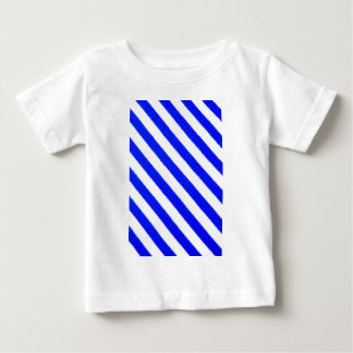 Blue and white stripes design baby T-Shirt