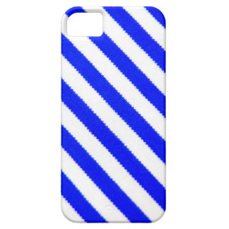 Blue and white stripes design case for the iPhone 5