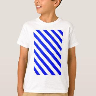 Blue and white stripes design T-Shirt