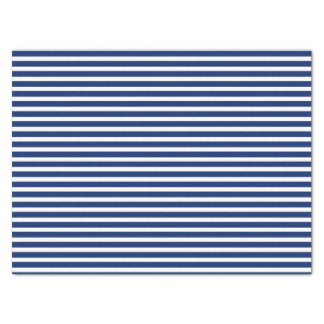 "Blue and White Stripes 15"" X 20"" Tissue Paper"