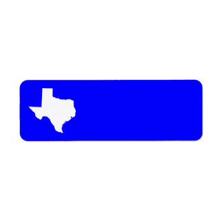 Blue and White Texas