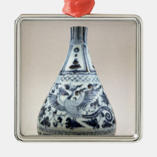 Blue and white vase, Yuan Dynasty Christmas Ornament
