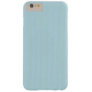 Blue and White Vertical Chevron iPhone/iPad Case