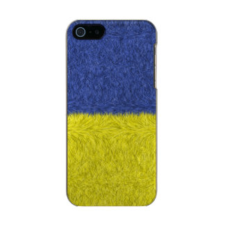 Blue and yellow abstract pattern incipio feather® shine iPhone 5 case