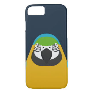 Blue-and-yellow Macaw - bird iPhone 7 case