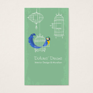 Blue-and-yellow Macaw Business Card