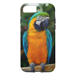 Blue and Yellow Macaw iPhone 7 Case