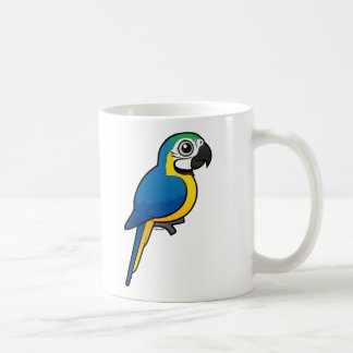 Blue-and-yellow Macaw Coffee Mugs