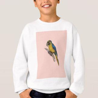 blue-and-yellow macaw, tony fernandes.tif sweatshirt