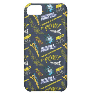 Blue and Yellow Pow! iPhone 5C Case