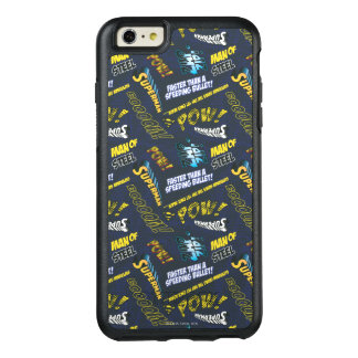 Blue and Yellow Pow! OtterBox iPhone 6/6s Plus Case