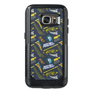 Blue and Yellow Pow! OtterBox Samsung Galaxy S7 Case