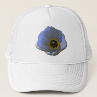 Blue and Yellow Tulip Hat