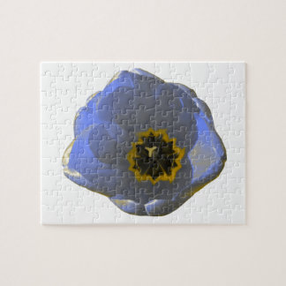 Blue and Yellow Tulip Puzzle