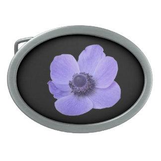 Blue Anemone Belt Buckle