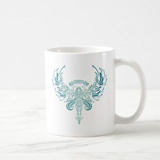 Blue Ange Basic White Mug
