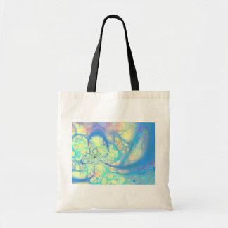 Blue Angel – Cosmic Azure & Lemon Budget Tote Bag