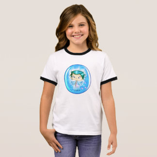 Blue Angel dressed and Ringer T-Shirt