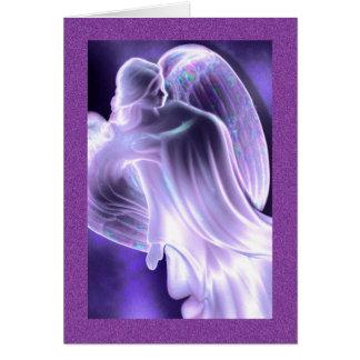 Blue Angel Greeting Card