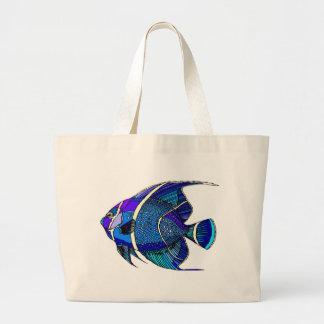 Blue Angel Jumbo Tote Bag