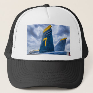 Blue Angel Luky #7 Trucker Hat