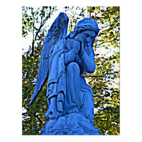 Blue Angel postcard