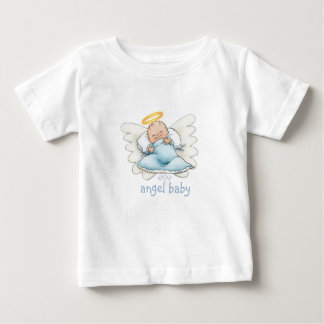 Blue Angel WingsPink Angel Wings Baby T-Shirt