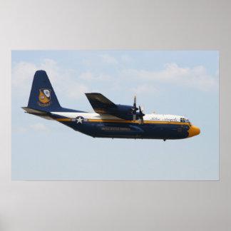 Blue Angels C-130 - Fat Albert Poster
