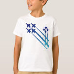 Blue Angels Double Diamonds Kids T-Shirt
