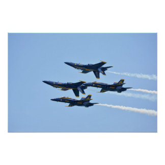 Blue Angels Double Farvel Poster
