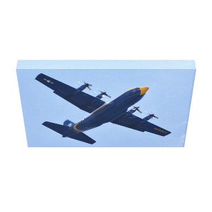 Blue Angels Fat Albert Canvas Print